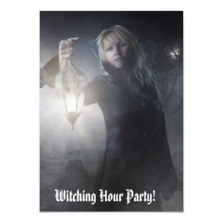 Witching Hour Party Invitations