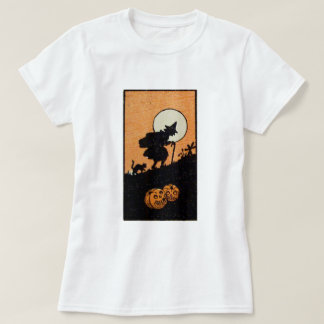 Witching Hour (Vintage Halloween Card) T-Shirt