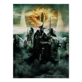 Witchking and Orcs Poster