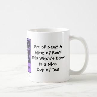 Witch's Brew is a Nice Cup of Tea Cheeky Witch Mug