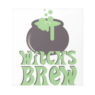 Witchs Brew Notepad