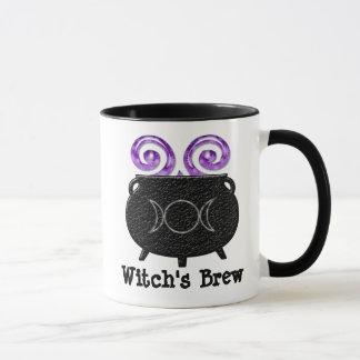 Witch's Brew Pagan Cauldron Coffee Mug