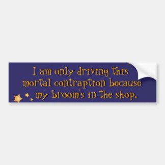 Witch's Bumper Sticker