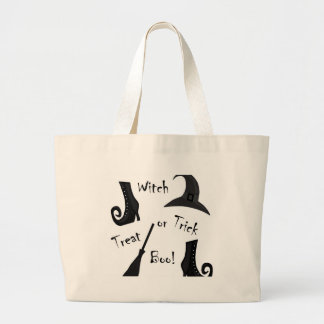 Witch's supplies large tote bag