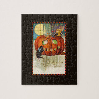 Witch's Wand Halloween Jigsaw Puzzle