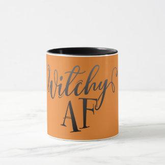 Witchy AF Halloween Mug