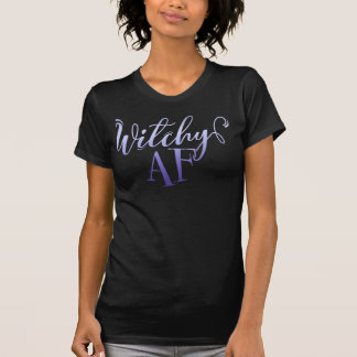 Witchy AF Halloween T-Shirt