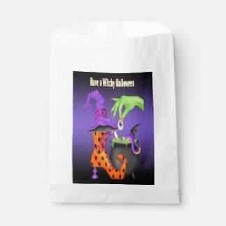 Witchy Halloween Favour Bag