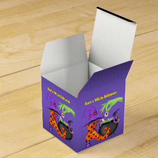 Witchy Halloween Favour Box Wedding Favor Boxes