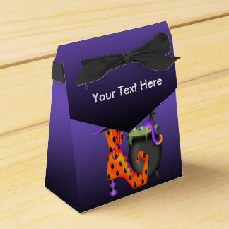 Witchy Halloween Tent Favour Box Favor Boxes
