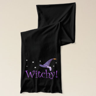 Witchy Pointed Hat Design Scarf