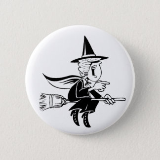 Witchy Poo Button