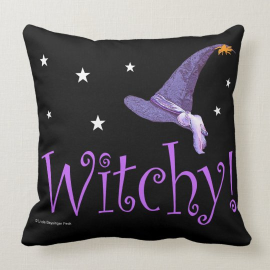 Witchy Throw Pillow