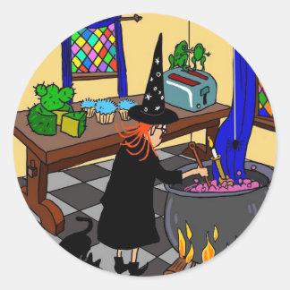 Witchy Wanda Stickers