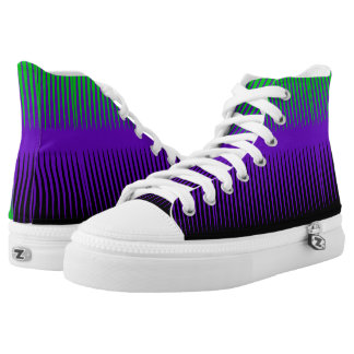 Witchy Wave Design High Tops