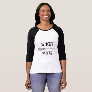Witchy Woman Halloween Shirt