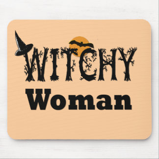 Witchy Woman Mouse Pad
