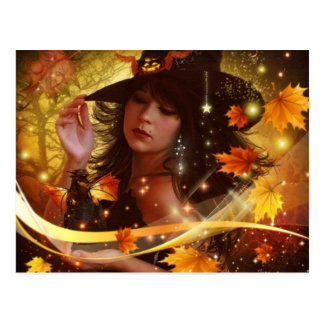 Witchy Woman Postcard