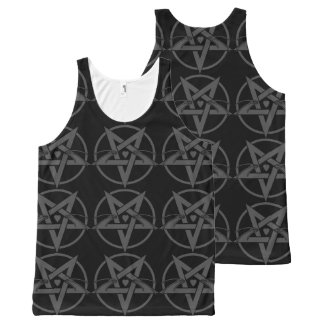 WitchyWhiskers All-Over-Print Tank Top
