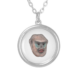 WITH A GLANCE SILVER PLATED NECKLACE
