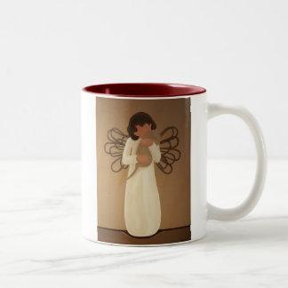 With Affection Two-Tone Coffee Mug