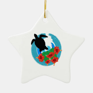 WITH ALL BEAUTY CERAMIC STAR ORNAMENT