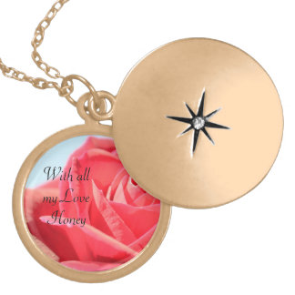 With all my Love Locket Necklace