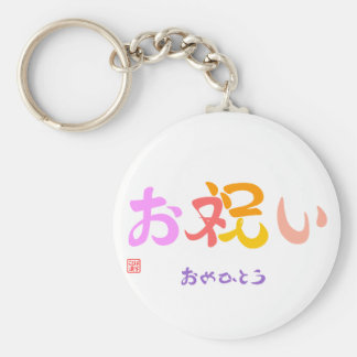 With celebration the color which is questioned the keychain