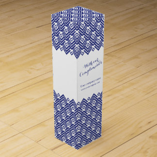 With Compliments promotional corporate wine box