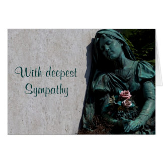 With Deepest Sympathy Note Card
