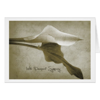 with DTE plague sympathy Card