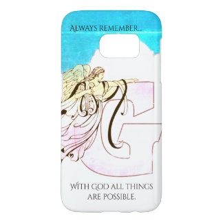 With God All Things Are Possible Samsung Galaxy S7 Case