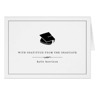 With Gratitude | Graduation Thank You Cards