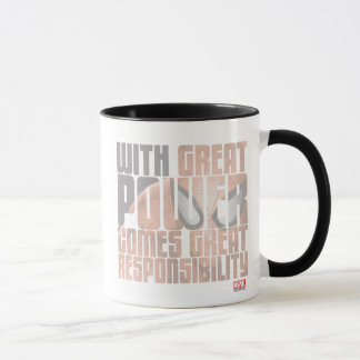 With Great Power Comes Great Responsibility Mug