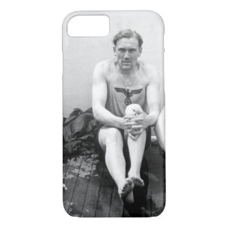 With his feuhrer's trademark_War Image iPhone 7 Case