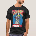 """""""With Liberty and Justice for All"""" Black T-Shirt 2"""