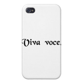 With living voice. iPhone 4/4S case