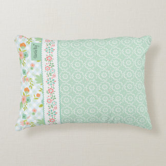 """""""With Love"""" Accent Pillow Mint"""