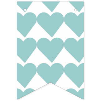 """WITH LOVE"" BUNTING FLAGS"