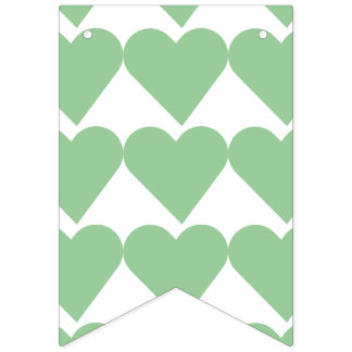 """""""WITH LOVE"""" BUNTING FLAGS"""