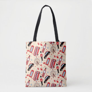 With love from England Tote Bag