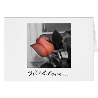 With Love Notecard