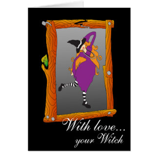 With love... your Witch Card