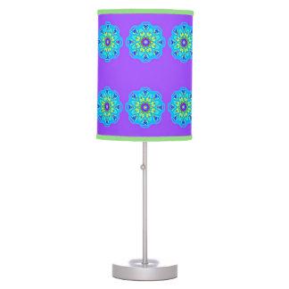 With Science Aqua Blue Mandala Lamp