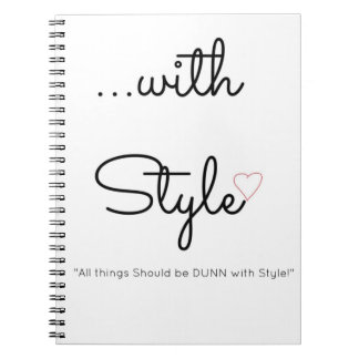 ...with Style Spiral Journal