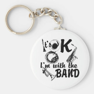 With the Band Keychain