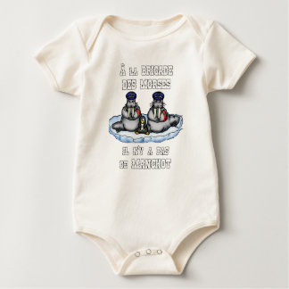 With the BRIGADE OF the MORSES there is no PENGUIN Baby Bodysuit