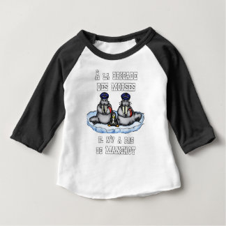 With the BRIGADE OF the MORSES there is no PENGUIN Baby T-Shirt