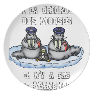 With the BRIGADE OF the MORSES there is no PENGUIN Plate