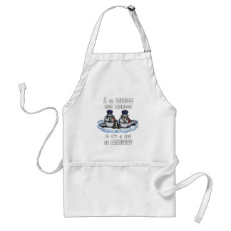 With the BRIGADE OF the MORSES there is no PENGUIN Standard Apron